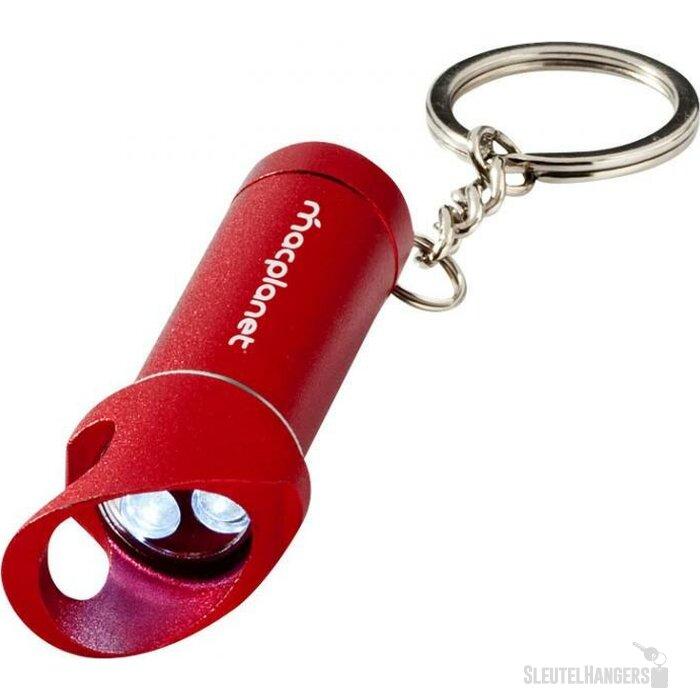 Lobster sleutelhangerlamp & flesopener rood Rood