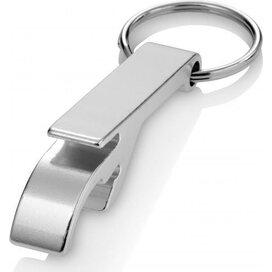 Sleutelhanger met flesopener Crewe zilver Zilver