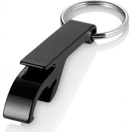 Sleutelhanger met flesopener Crewe zwart Zwart