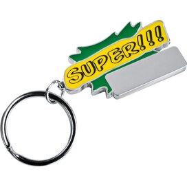 Sleutelhanger Super groen