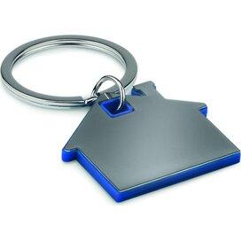 Huisvormige sleutelhanger Imba (Kobalt) blauw