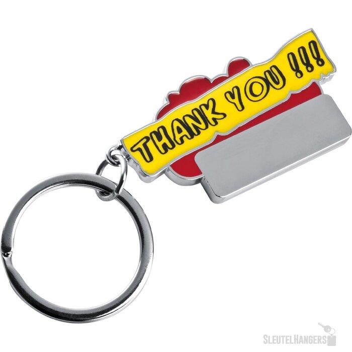 Sleutelhanger Thank you