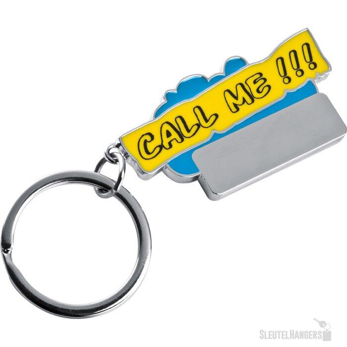 Sleutelhanger Call me