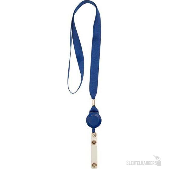 Lanyard met jojo blauw