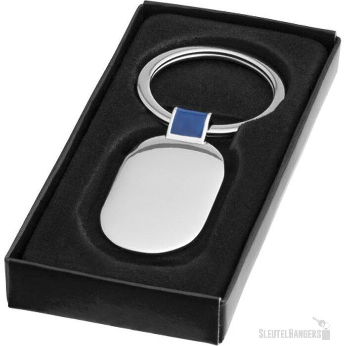 Barto sleutelhanger Zilver,koningsblauw