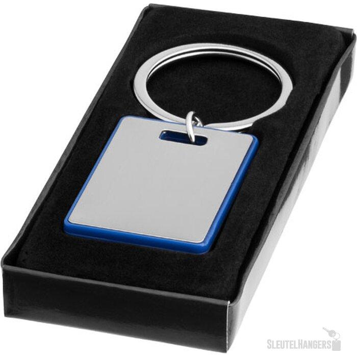 Donato sleutelhanger Zilver,koningsblauw