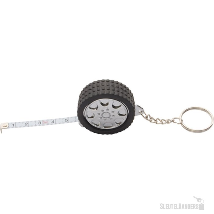 Wheel Sleutelhanger Met Meetlint