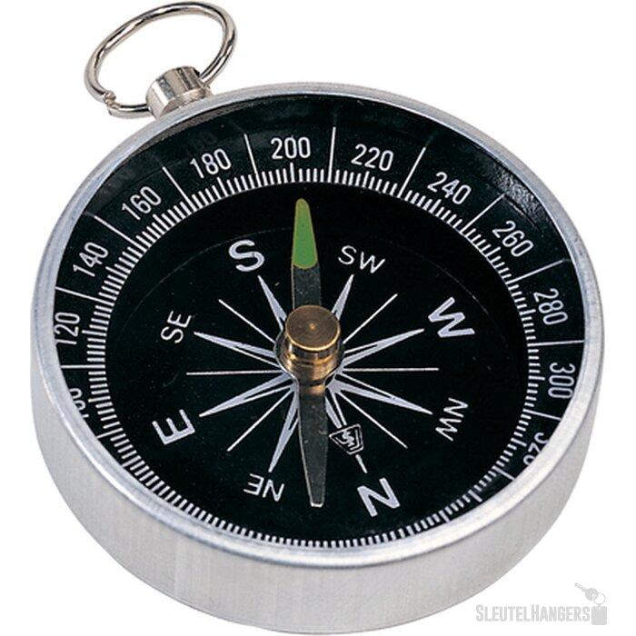 Nansen Metalen Kompas Met Sleutelring