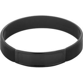Truddy Siliconen Armband Zwart