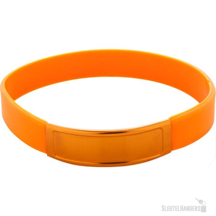 Truddy Siliconen Armband Oranje