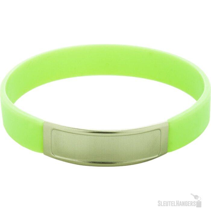 Truddy Siliconen Armband Groen