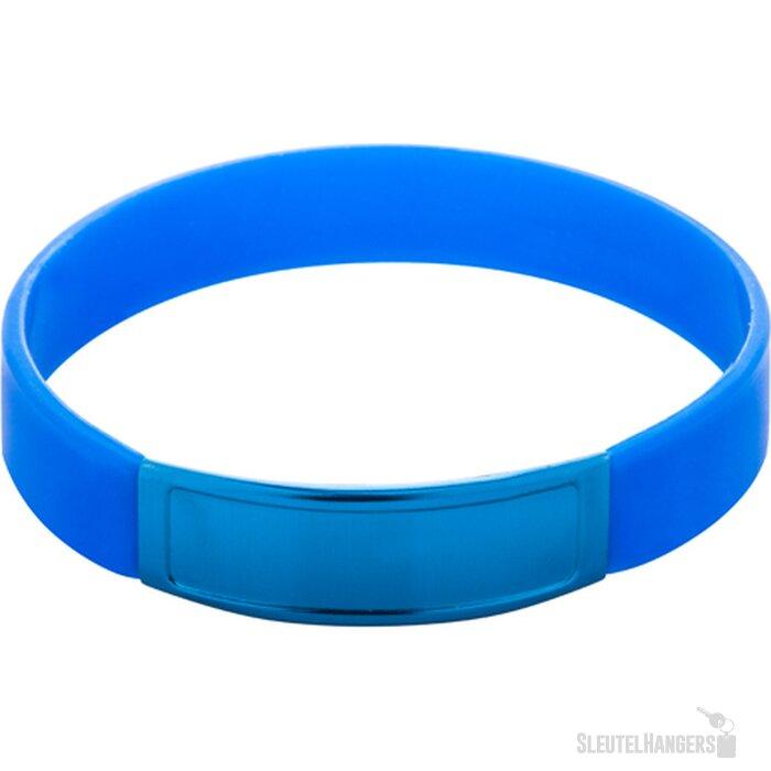 Truddy Siliconen Armband (kobalt) Blauw