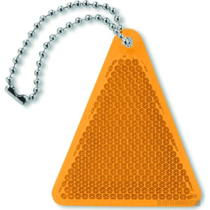 Reflector driehoek Catcht Oranje