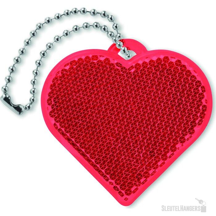 Reflector hartvorm Catchh Rood
