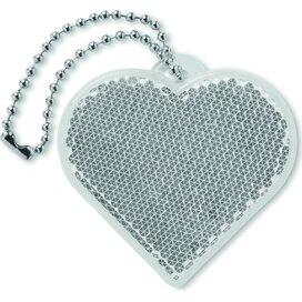 Reflector hartvorm Catchh Wit