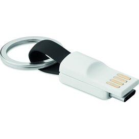 Sleutelhanger USB type C Mini C Zwart