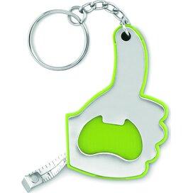 Sleutelhanger rolmaat/opener Top Ring Lime groen