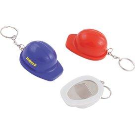 Sleutelhanger Helm met flesopener donkerblauw
