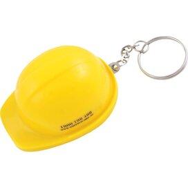 Sleutelhanger Helm met flesopener geel