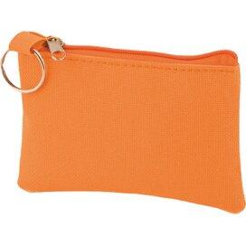 Sleuteltasje met rits polyester 600D oranje