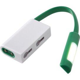 Libra karabijnhaak met combo licht Groen