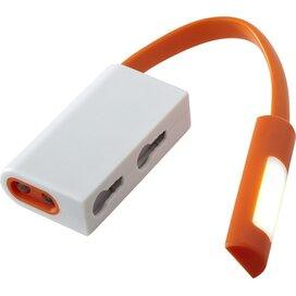Libra karabijnhaak met combo licht Oranje,Wit