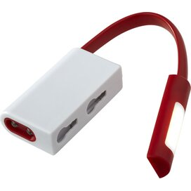 Libra karabijnhaak met combo licht Rood,Wit