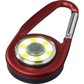 Eye karabijnhaak met COB licht Rood