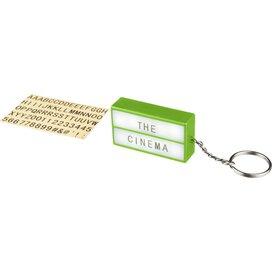 The Cinema lightbox sleutelhanger Lime