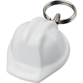 Kolt helmvormige sleutelhanger Wit