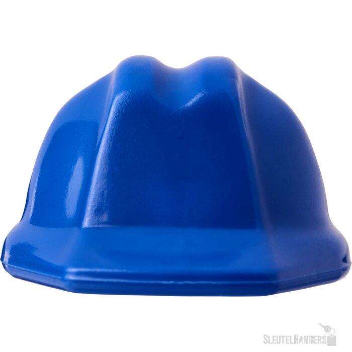 Kolt helmvormige sleutelhanger blauw