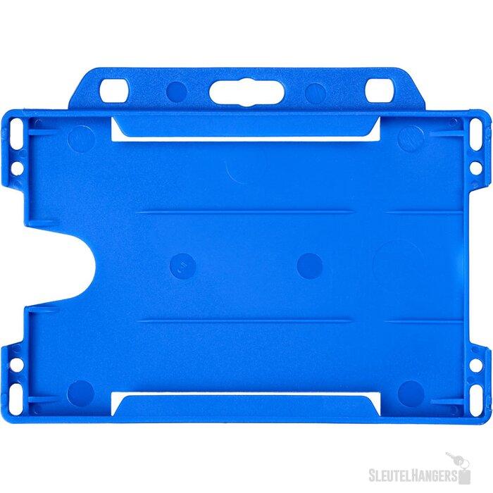 Vega kunststof badgehouder blauw
