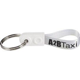 Ad-Loop ® Mini sleutelhanger Wit