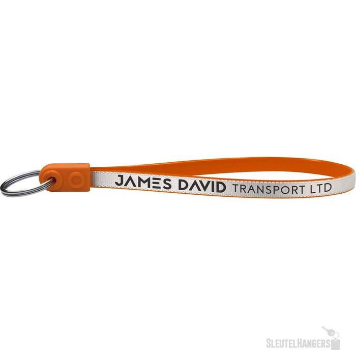 Ad-Loop ® Jumbo sleutelhanger Oranje