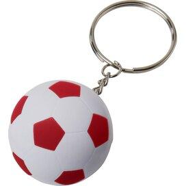 Striker voetbalsleutelhanger Wit,Rood