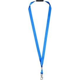 Oro linten lanyard met veiligheidssluiting blauw
