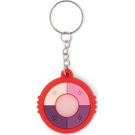 Uv sleutelhanger Uv check ring rood