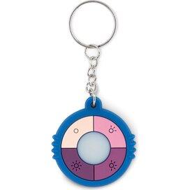 Uv sleutelhanger Uv check ring royal blauw
