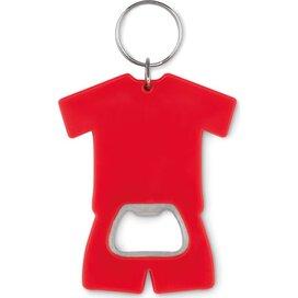 Flesopener t-shirt Camis key rood
