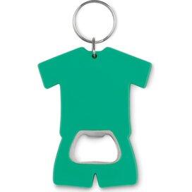 Flesopener t-shirt Camis key groen