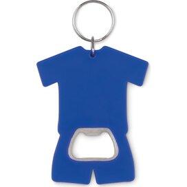 Flesopener t-shirt Camis key blauw