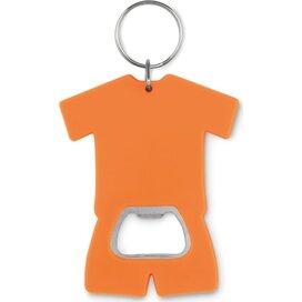 Flesopener t-shirt Camis key oranje