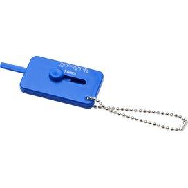 Kepi bandenprofielmeter met sleutelring blauw