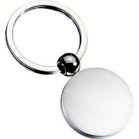 Sleutelhanger Ball zilver