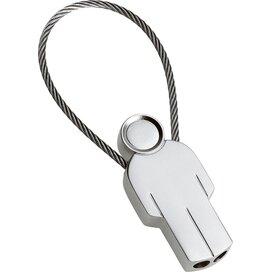 Sleutelhanger Man zilver
