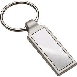Sleutelhanger Irun Rectangular zilver