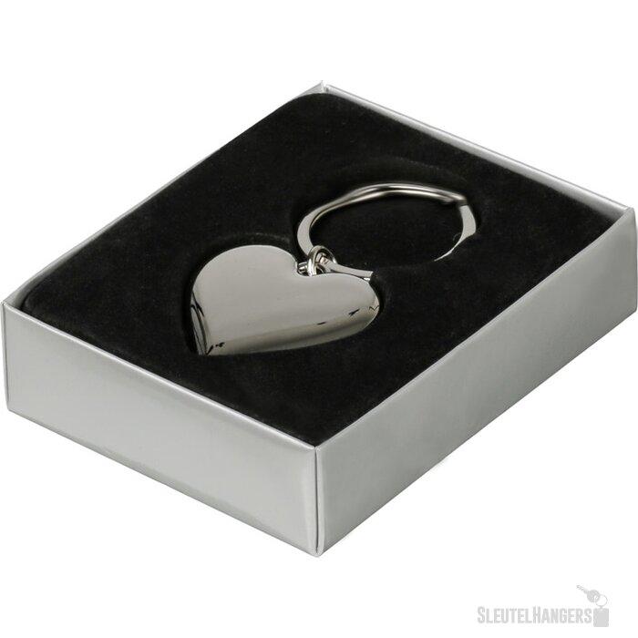 Sleutelhanger Almere Shiny zilver, glanzend zilver