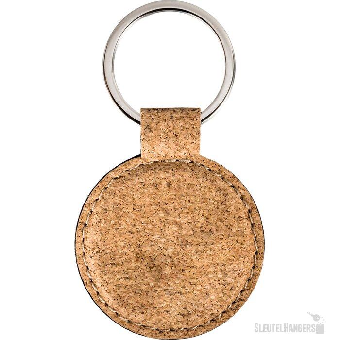 Sleutelhanger Palaiseau-Round bruin